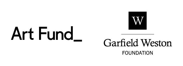 Art Fund and Garfield Weston Foundation Logo lockup