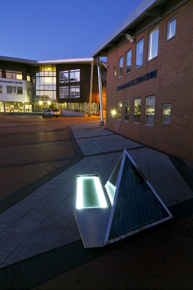 Solar Cell Seating by Cate Watkinson